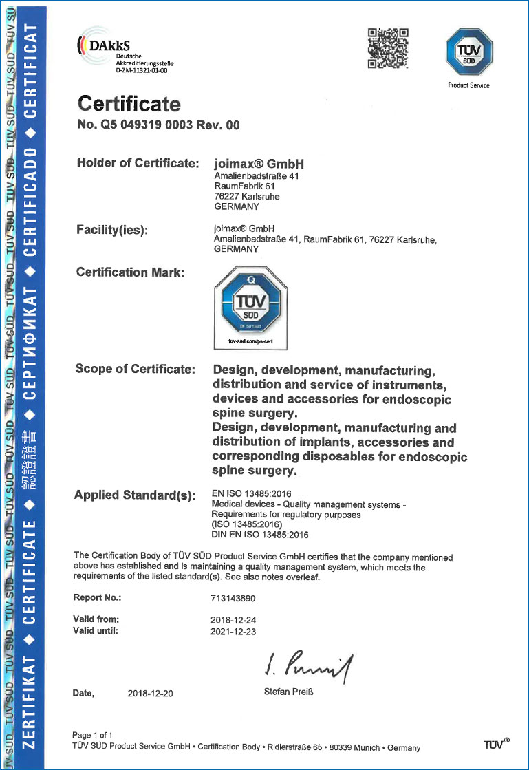 quality management and certified qm-system