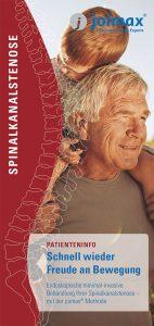 joimax Patientenbroschuere, Spinalkanalstenose, Schenll wieder Freude an Bewegung