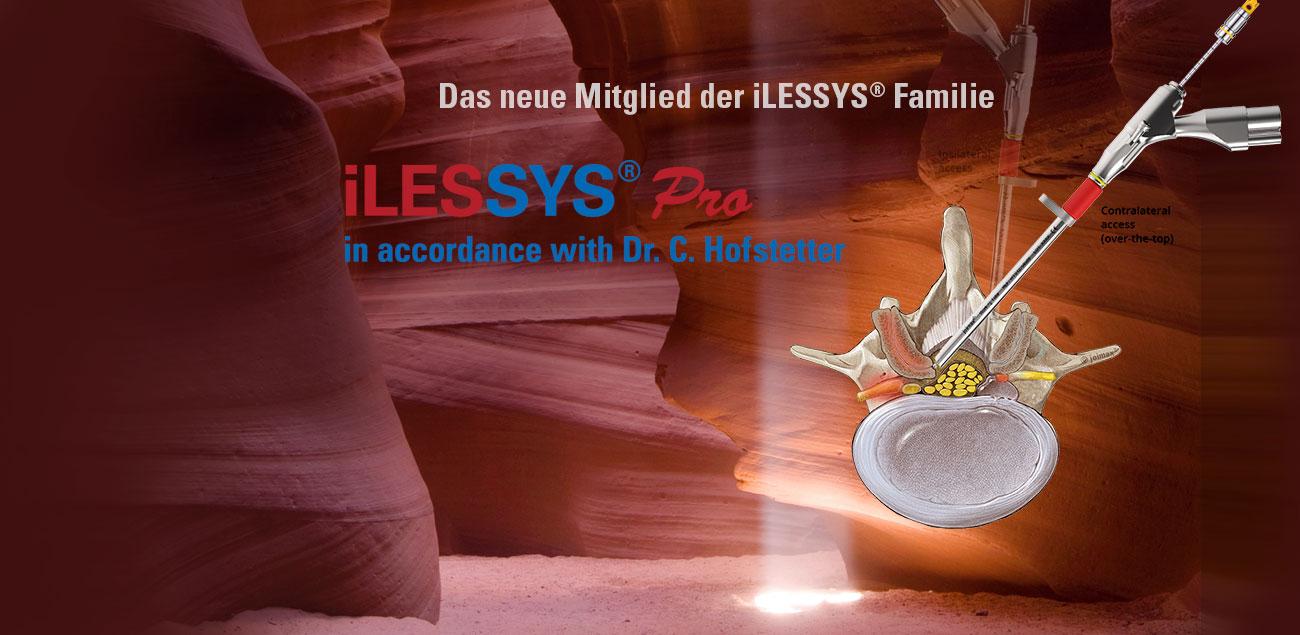 iLESSYS Pro - das neueste Mitglied der ilessys Familie