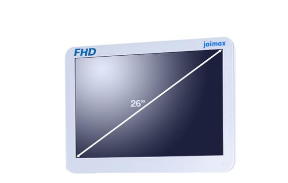 "FHD, Monitor, 26 Zoll, 26"", Full HD, Display, Bildschirm, joimax, endoskopische Geräte, Endoskopie"