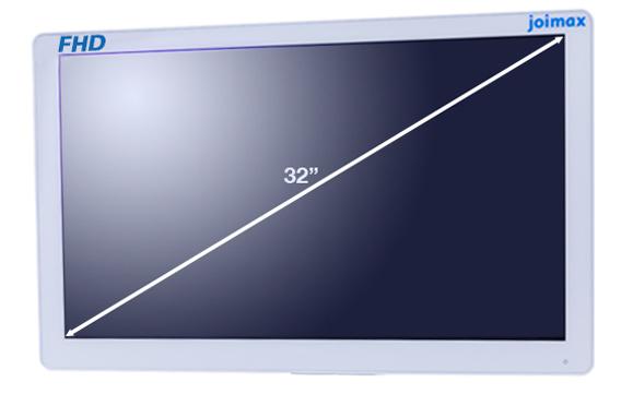 "FHD, Monitor, 32 Zoll, 32"", Full HD, Display, Bildschirm, joimax, endoskopische Geräte, Endoskopie"