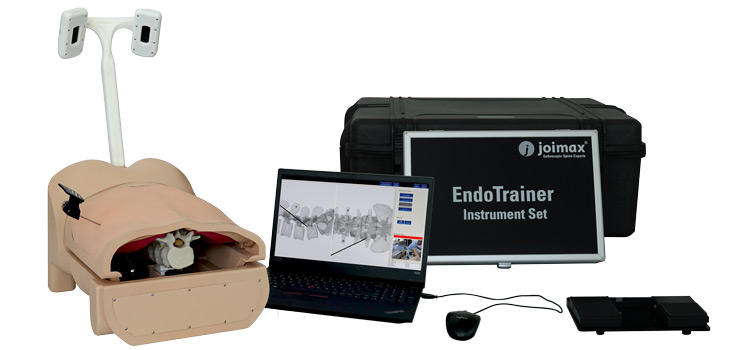 laptop, case, footswitch, EndoTrainer, plus, joimax, endoscopic, device, cme, cm3, training, program, surgical technique, simulator, or-team