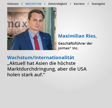 Statements, Karriere-bei-joimax,wachstum, Internationalität, MaxRies