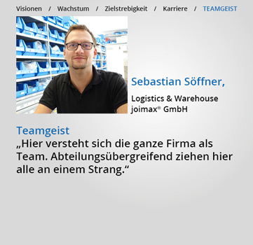 Statements, Karriere-bei-joimax, Teamgeist, Sebastian Soeffner