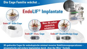 Endoskopische Wirbelsäulenchirurgie, Wirbelsäulenstabilisierung, endoskopische Geräte, voll-endoskopisch, Stabilisierungssystem, minimal-invasiv, Fusion, Cage, Training und Ausbildung, joimax
