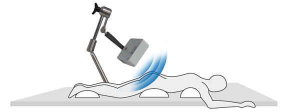 Intracs-em-Navigation, joimax, endoskopische Geräte, Haltearm für Intracs Field Generator