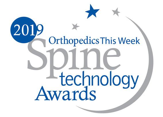 Intracs em, elektromagnetische Navigation, Technologie Award, Wirbelsäule, endoskopische Geräte, Orthopedics this week, vollendoskopische Wirbelsäulenchirurgie