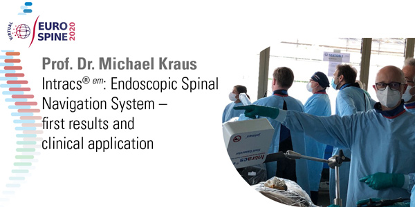 Endoscopic Spinal Navigation System – first results and clinical application