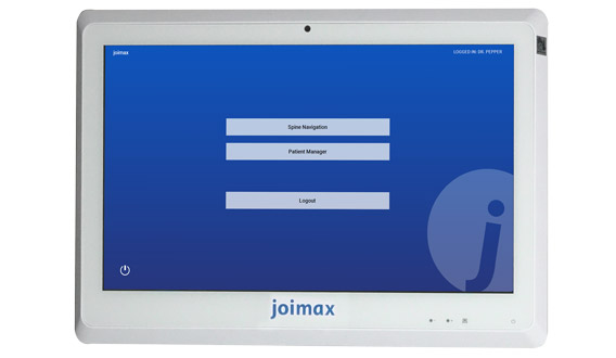 joimax Intracs em, navigation, endoscopic devices, electronic, small tower, monitor, device, software