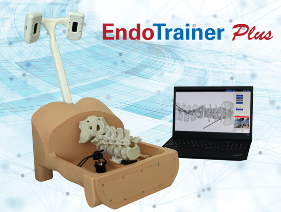 key visual, EndoTrainer, plus, joimax, endoscopic, device, cme, cm3, training, program, surgical technique, simulator, or-team