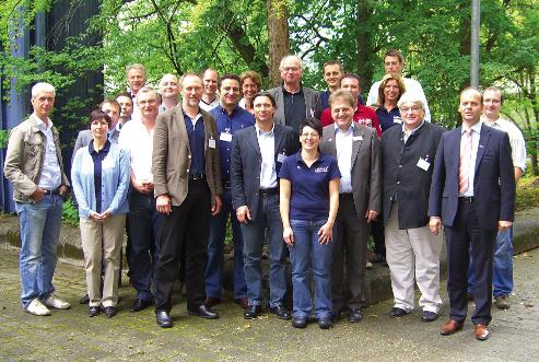 Teilnehmer Anwendertreffen Heidelberg 2011