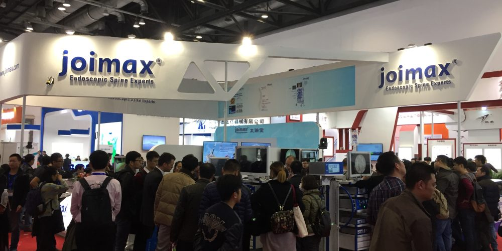 COA 2016 in Beijing, China: joimax<sup>®</sup> shows major presence and inaugurates new NASS-joimax<sup>®</sup> MISS training centre