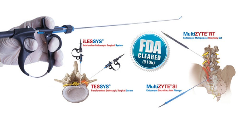FDA Clearance for joimax<sup>®</sup> Vaporflex<sup>®</sup>  and Legato<sup>®</sup>  electrosurgical probes
