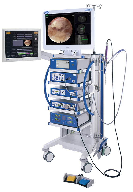 joimax® Endoscopic Tower with Intracs® Navigation Unit