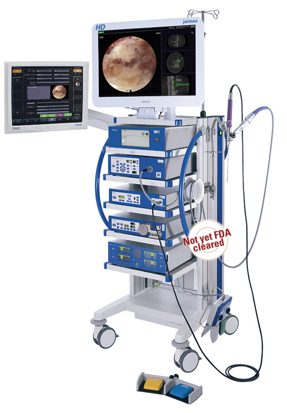 joimax® Endoscopic Tower with Intracs® Navigation and Monitor Unit - not yet FDA cleared
