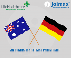 joimax, helathcare, germany, australia, partnership,